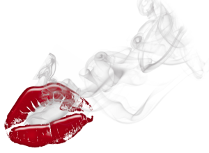 Smoking lips