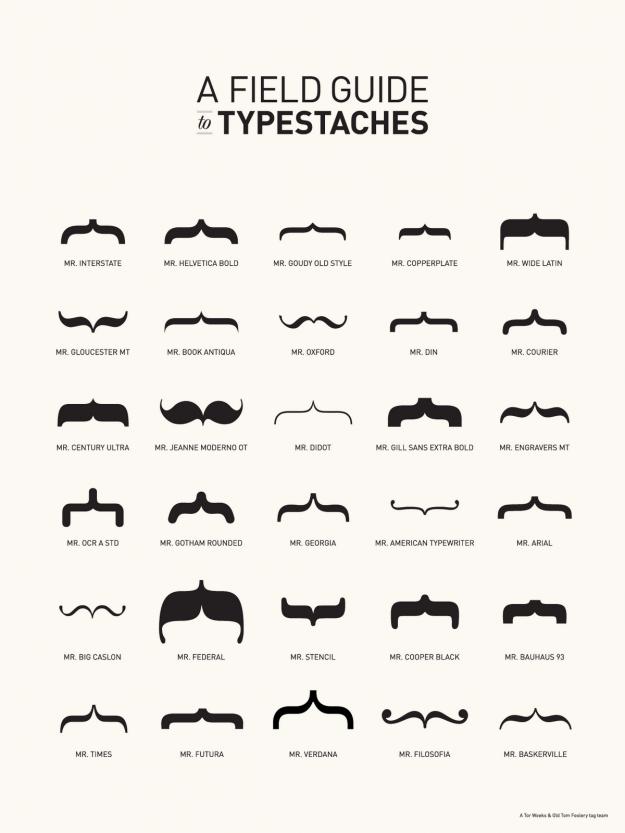 Typestaches infographic