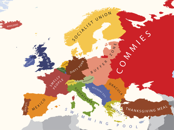 Europe According to the United States of America