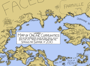 Map of online communities