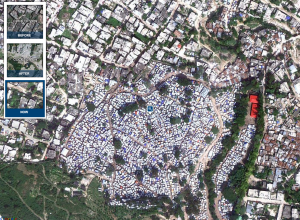 Haiti then and now in maps