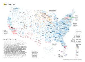 Surnames map