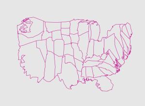 Diffusion-based Cartogram