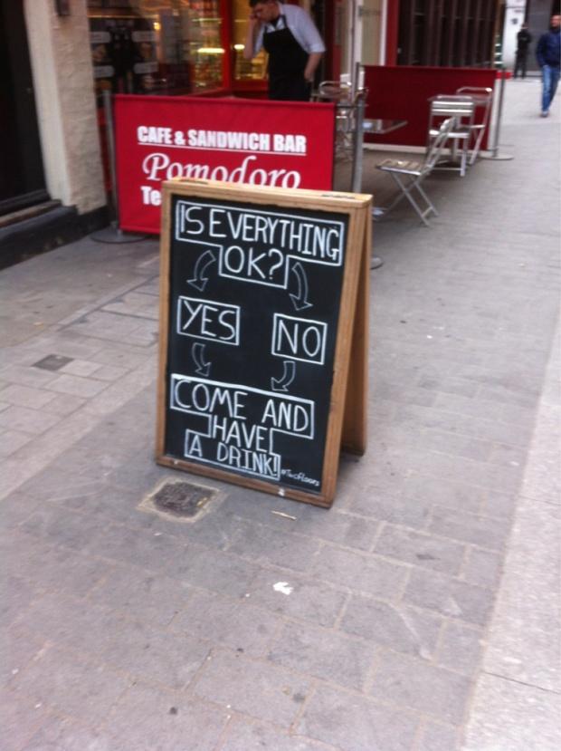 Pub flowchart