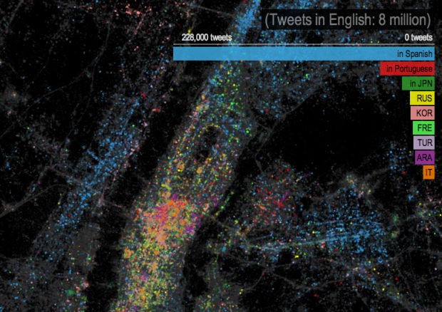 Twitter language NYC