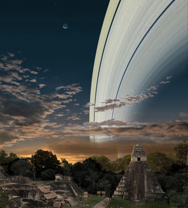 Rings over Guatemala