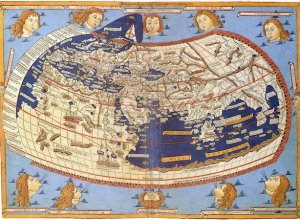 Claudius Ptolemy world map