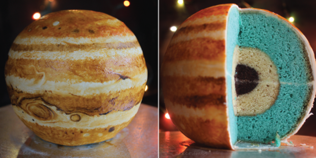 Planetary layer cake
