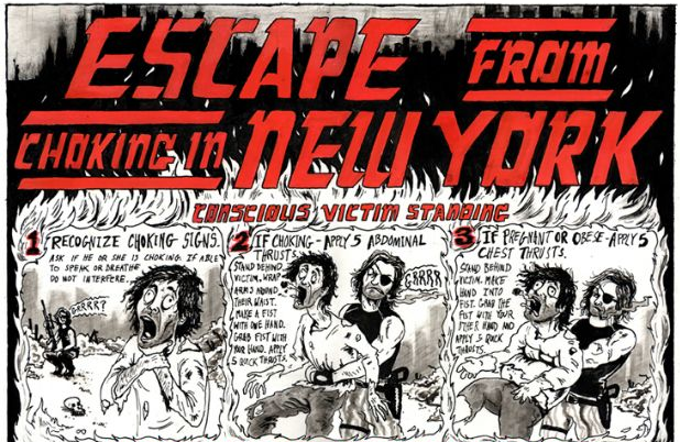 Escape from Choking in New York by Phil Ashworth
