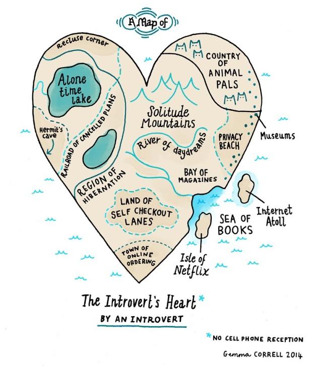 Introvert's heart
