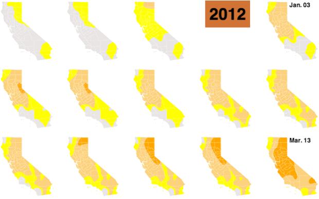 LA Times - California drought