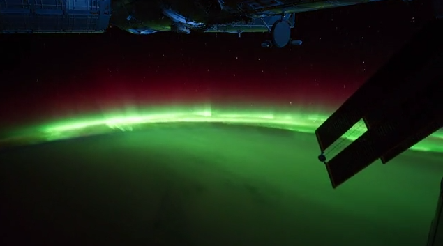 Time-lapse of Earth from International Space Station