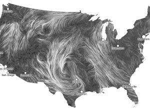 Wind Map by Viegas and Wattenberg