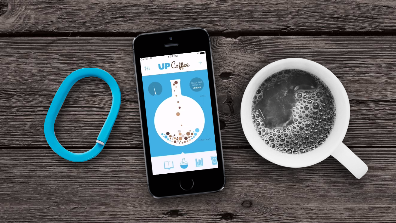 UP Coffee app helps you track and understand caffeine