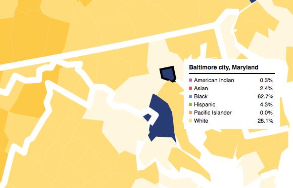 Baltimore city Maryland