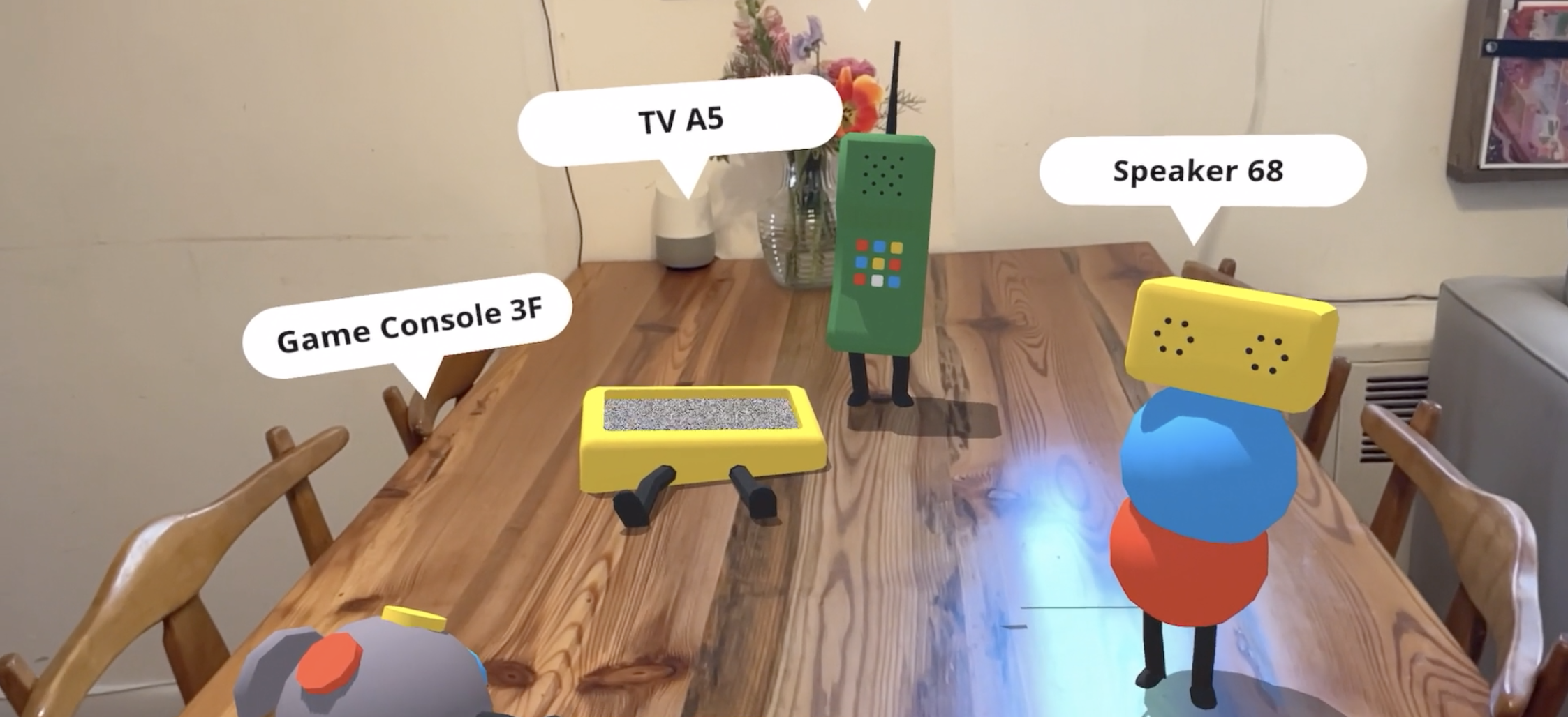 Seeing how devices talk to each other